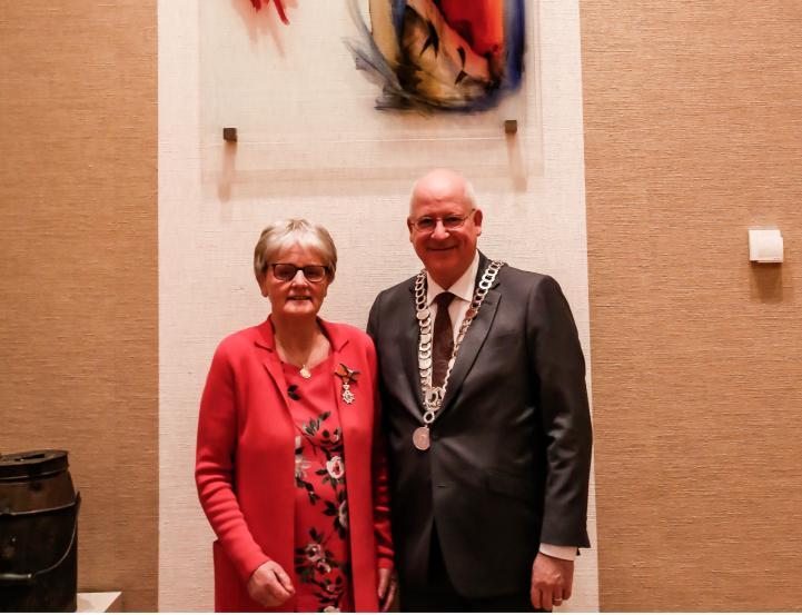 20180327 -- koninklijke onderscheiding Agnes ten Dam-Koopman