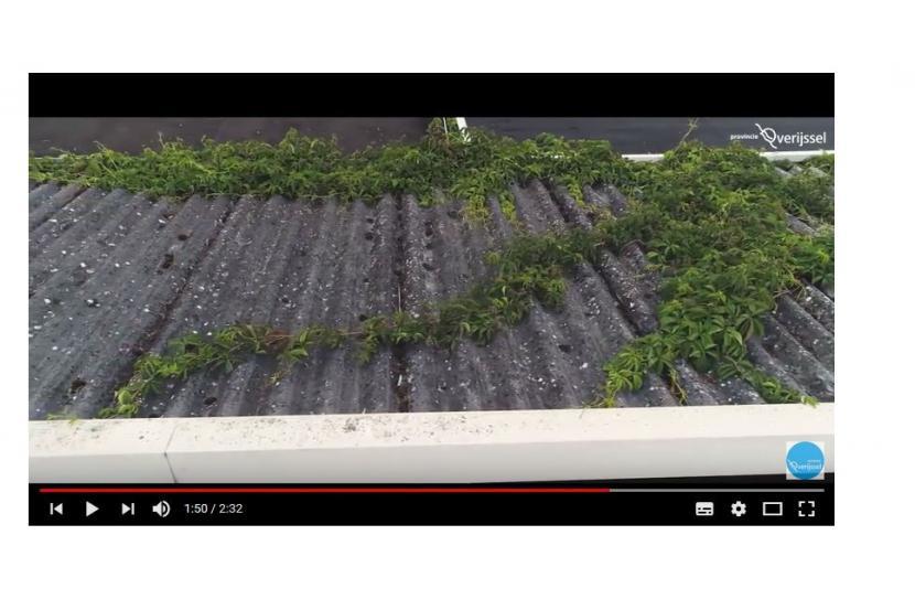 Filmpje Asbest verwijderen