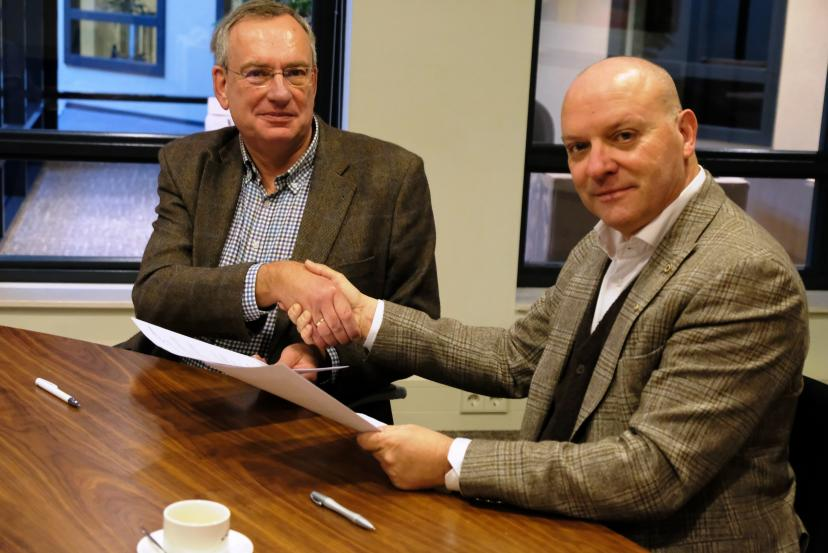 Ondertekening samenwerkingsovereenkomst